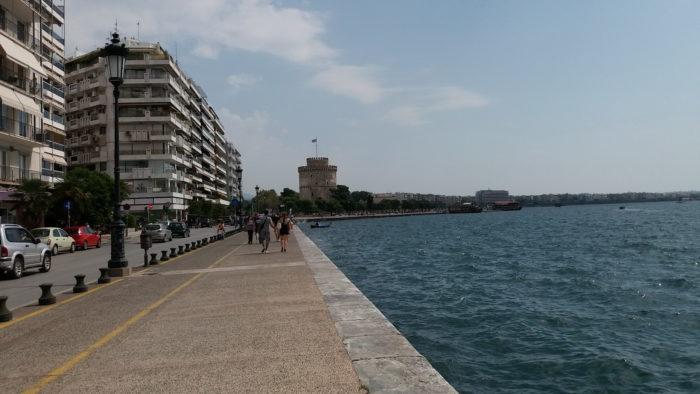 Набережная в Салониках
