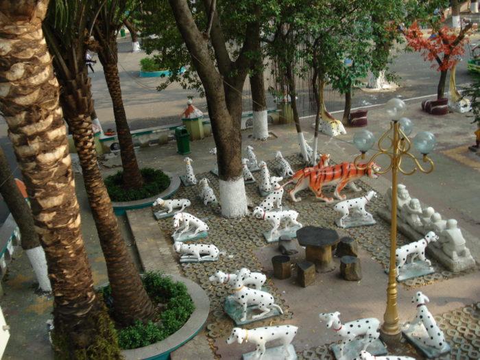 Парк Дам Сен в Хошимине