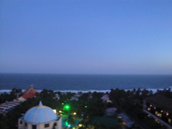 вид из отеля Nam Hai Hotel 3* в Муйне