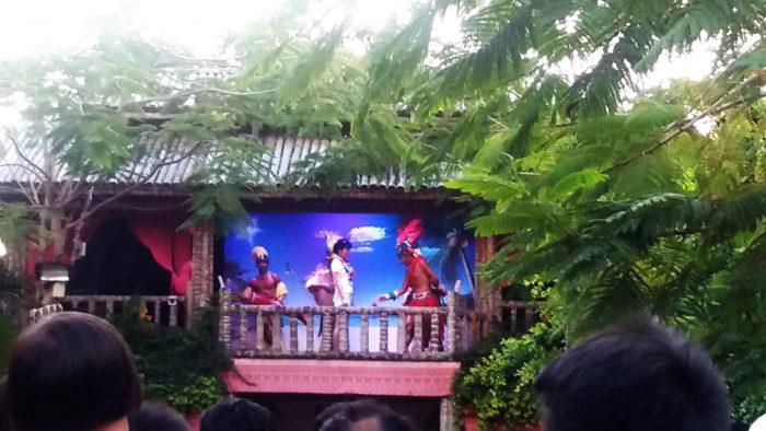 Шоу в Романтическом парке