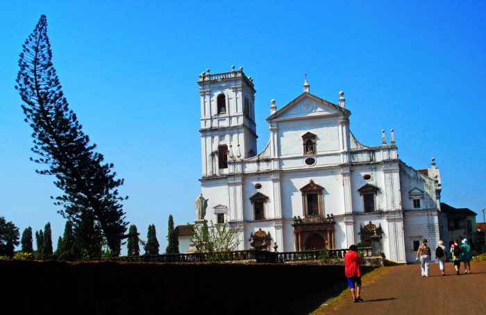 Собор Святой Елены в старом Гоа