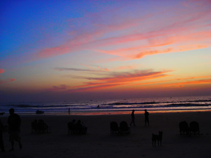 Закаты на Гоа
