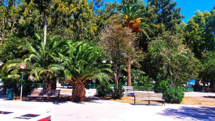 Лутраки парк