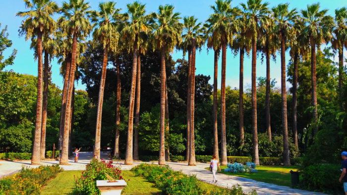 Королевский сад в Афинах