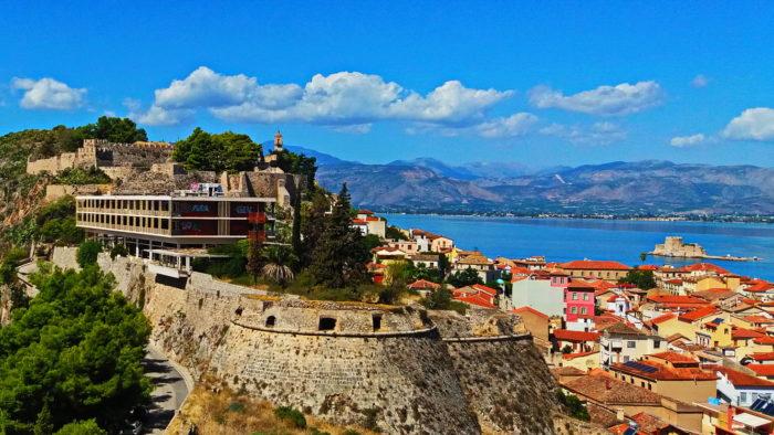 Крепости Нафплиона