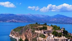 Крепость Акронафплия вид сверху