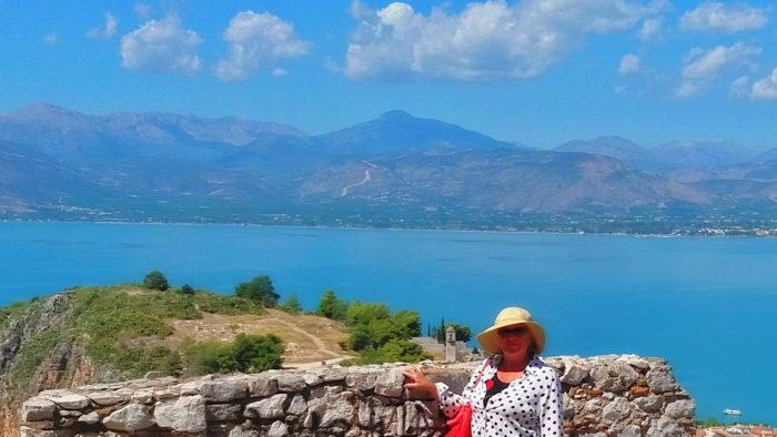 На смотровой площадке крепости в Нафплионе
