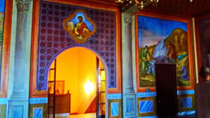 В монастыре Мега Спилео