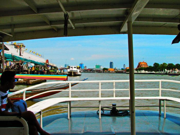 На пароме в Бангкоке