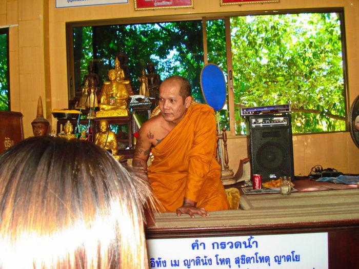 Монах в Таиланде