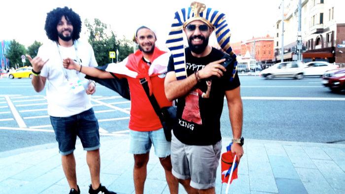 Болельщики из Египта