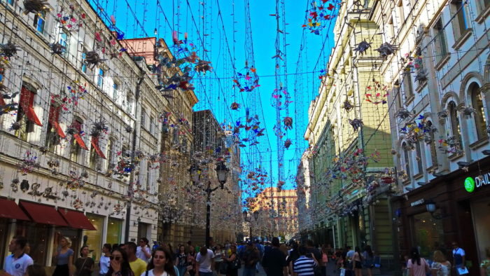 Никольская улица ЧМ