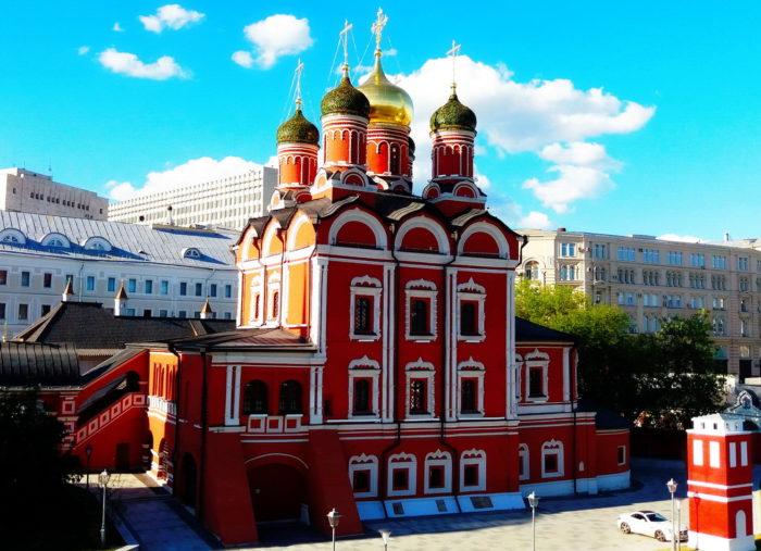 Храм Анны в Зарядье