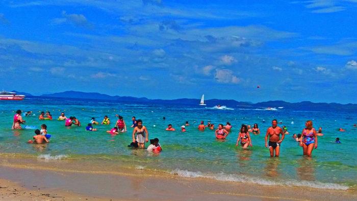 Пляж на острове в Таиланде