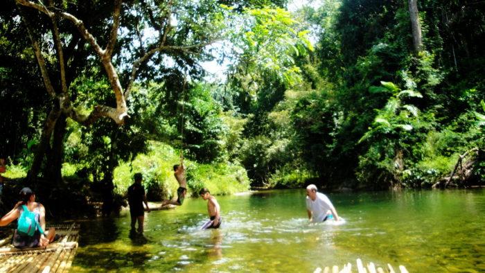 Экскурсия на реку на Пхукете