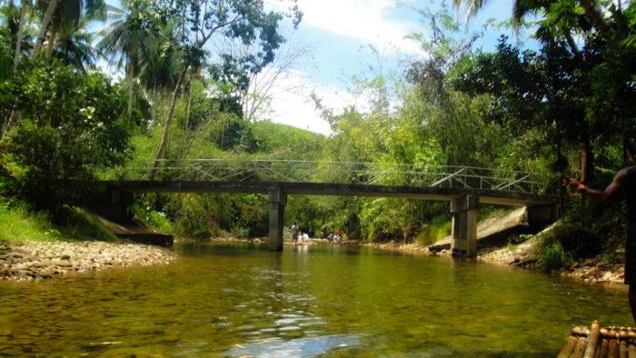 Мост через реку в Таиланде