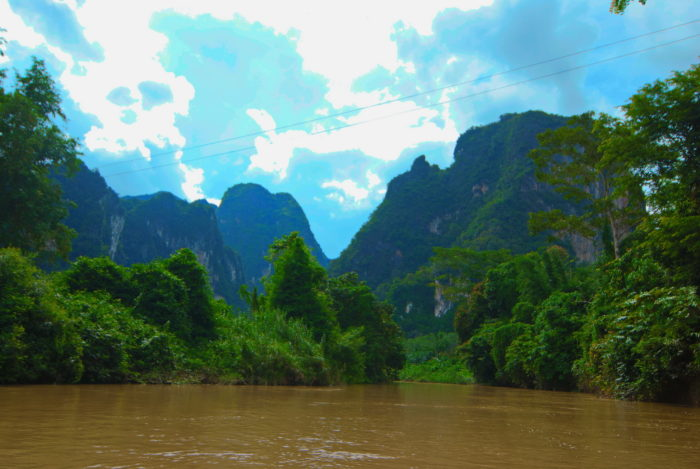 Река Таиланда фото