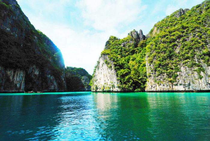 Лагуна в Таиланде