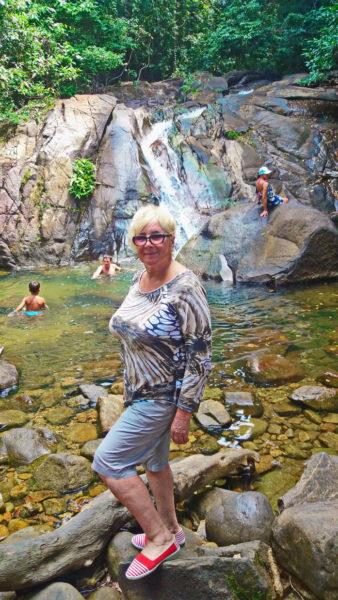Водопад на Пхукете фото