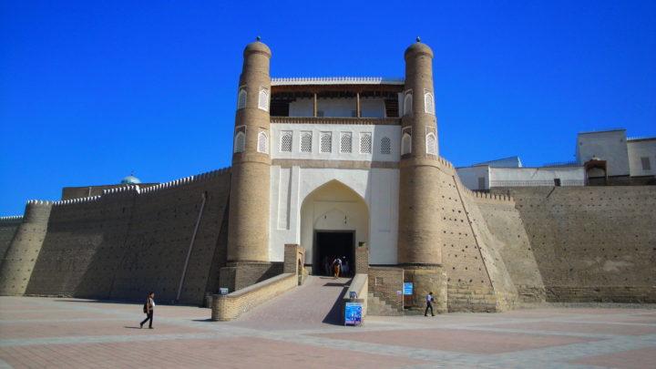 Древнейшая крепость Арк в Бухаре