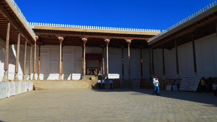 Тронный зал крепости Арк