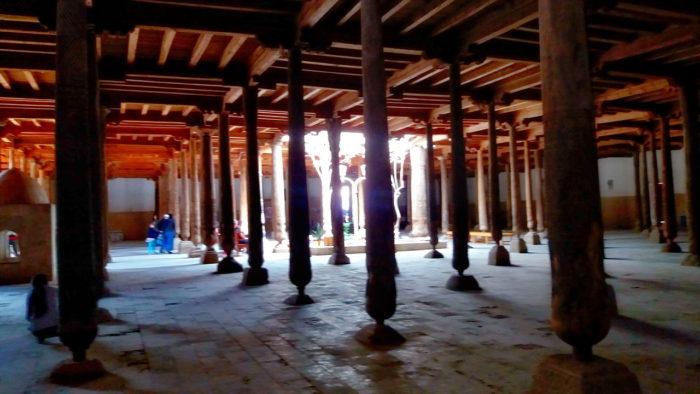 Жума мечеть в Хиве